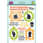 JustRite - Halloween - Clear Acrylic Stamps - Booti-ful Cameos