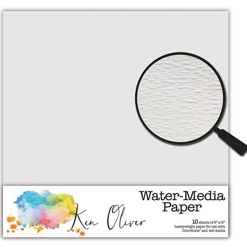 Canvas Corp - Ken Oliver - Water Media Collection - 6 x 6 Paper