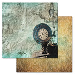Ken Oliver - Studio Collection - 12 x 12 Double Sided Paper - Hands Of Time