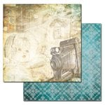 Ken Oliver - Studio Collection - 12 x 12 Double Sided Paper - Toned Memories