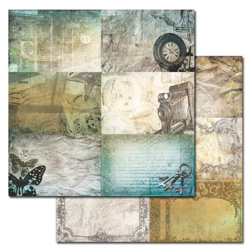 Ken Oliver - Studio Collection - 12 x 12 Double Sided Paper - 4 x 6 Journaling Cards