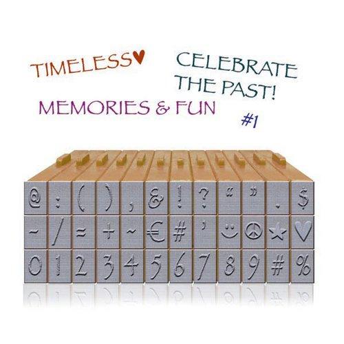 Ken Oliver - Pegz Clickable Letterz Stamp Sets - Symbols and Numbers Set