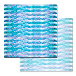 Ken Oliver - Pitter Patterns Collection - 12 x 12 Double Sided Paper - Azure Waters