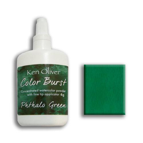 Ken Oliver - Color Burst - Pthalo Green