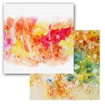 Ken Oliver - Color Burst Splash Collection - 12 x 12 Double Sided Paper - Swoosh