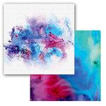 Ken Oliver - Color Burst Splash Collection - 12 x 12 Double Sided Paper - Nebulous