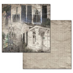 Ken Oliver - Hometown Cottage Collection - 12 x 12 Double Sided Paper - Garden Cottage