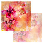 Ken Oliver - Watercolor Florals Collection - 12 x 12 Double Sided Paper - Watercolor Apple Blossoms