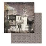Ken Oliver - Hometown Cottage Collection - 12 x 12 Double Sided Paper - Welcome Home