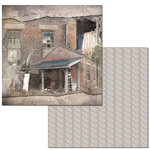 Ken Oliver - Hometown Cottage Collection - 12 x 12 Double Sided Paper - Potting Shed