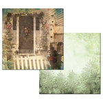 Ken Oliver - Hometown Christmas Collection - 12 x 12 Double Sided Paper - Home for Christmas