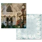 Ken Oliver - Hometown Christmas Collection - 12 x 12 Double Sided Paper - Oh, Christmas Tree