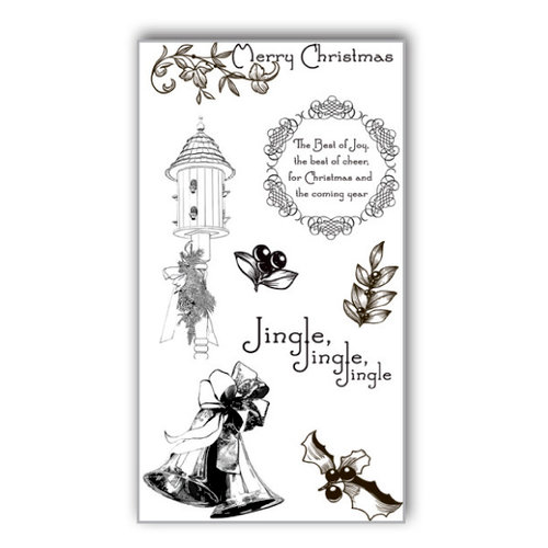 Ken Oliver - Hometown Christmas Collection - Clear Acrylic Stamps - Set 2