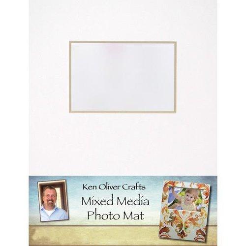Ken Oliver - Mixed Media - Photo Mat - 11 x 14