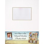 Ken Oliver - Mixed Media - Photo Mat - 11 x 14