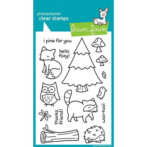 Lawn Fawn - Clear Photopolymer Stamps - Critters in the Forest