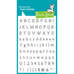 Lawn Fawn - Clear Acrylic Stamps - Smitty's ABCs