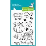 Lawn Fawn - Clear Acrylic Stamps - Harvest Season