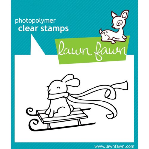 Lawn Fawn - Clear Acrylic Stamps - Winter Bunny