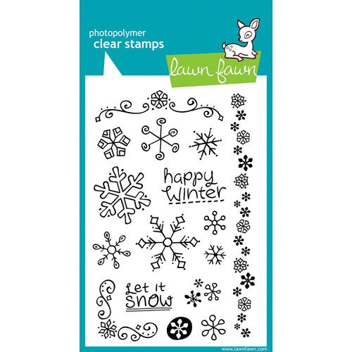 Lawn Fawn - Clear Acrylic Stamps - Frosties