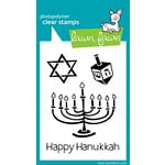 Lawn Fawn - Clear Acrylic Stamps - Happy Hanukkah