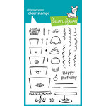 Lawn Fawn - Clear Acrylic Stamps - Bake Me A Cake