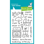 Lawn Fawn - Clear Acrylic Stamps - Plus One