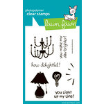 Lawn Fawn - Clear Acrylic Stamps - How Delightful