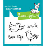 Lawn Fawn - Clear Acrylic Stamps - Fly Free