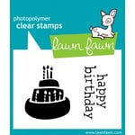 Lawn Fawn - Clear Acrylic Stamps - Year One
