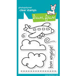 Lawn Fawn - Clear Acrylic Stamps - Bon Voyage