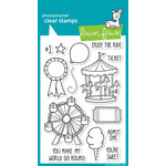 Lawn Fawn - Clear Acrylic Stamps - Admit One