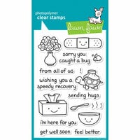 Lawn Fawn - Clear Photopolymer Stamps - On the Mend