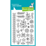 Lawn Fawn - Clear Acrylic Stamps - Blissful Botanicals