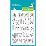 Lawn Fawn - Clear Acrylic Stamps - Quinn's ABCs