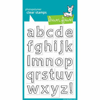 Lawn Fawn - Clear Photopolymer Stamps - Quinn's ABCs