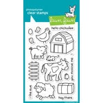 Lawn Fawn - Clear Photopolymer Stamps - Critters on the Farm
