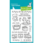 Lawn Fawn - Clear Acrylic Stamps - Christmas - Pa-Rum-Pa-Pum-Pum