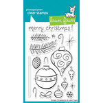 Lawn Fawn - Clear Acrylic Stamps - Christmas - Ornate Ornaments
