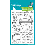Lawn Fawn - Clear Photopolymer Stamps - Love 'n Breakfast