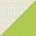 Lawn Fawn - Bright Side Collection - 12 x 12 Double Sided Paper - Spoonful Of Sugar