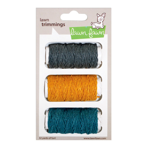 Lawn Fawn - Lawn Trimmings - Hemp Cord Spool - 3 Pack