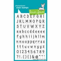 Lawn Fawn - Clear Photopolymer Stamps - Claire's ABCs