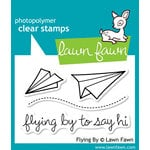 Lawn Fawn - Clear Photopolymer Stamps - Flying By