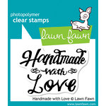 Lawn Fawn - Clear Acrylic Stamps - Handmade with Love