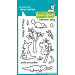 Lawn Fawn - Clear Acrylic Stamps - Critters Down Under