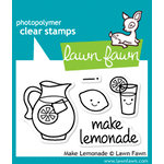 Lawn Fawn - Clear Acrylic Stamps - Make Lemonade