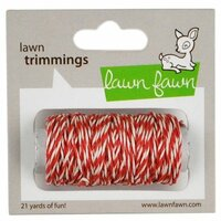 Lawn Fawn - Lawn Trimmings - Bakers Twine Spool - Peppermint