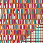 Lawn Fawn - Dewey Decimal Collection - 12 x 12 Double Sided Paper - Non-Fiction
