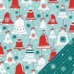 Lawn Fawn - Fa-La-La Collection - Christmas - 12 x 12 Double Sided Paper - Jingle Bells